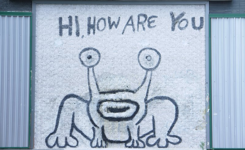 About us memberfindme for Daniel johnston mural austin